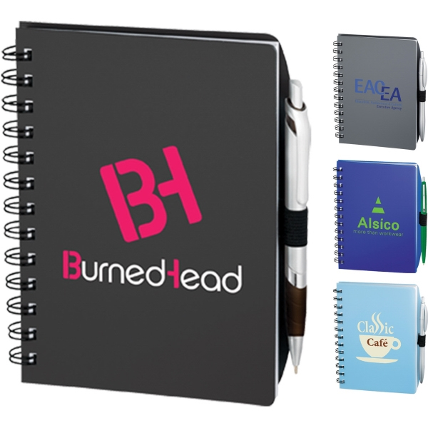 Custom Printed 3 Day Service Writing Notebooks