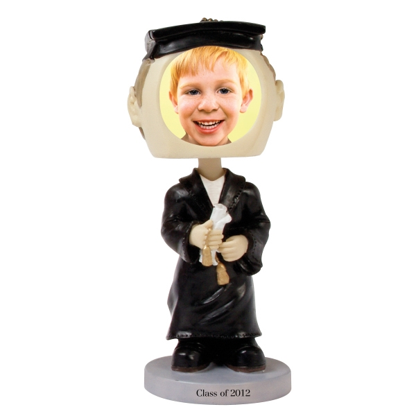 Custom Printed Graduate Bobble Head Picture Frames