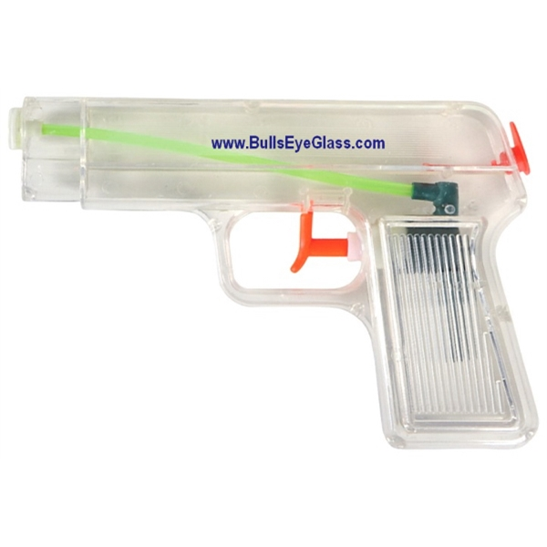 Custom Printed Clear Water Pistols
