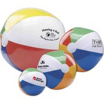 Custom Printed 6 inch Beach Balls