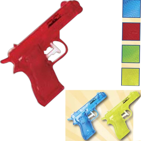 Custom Printed Assorted Colors Water Pistols