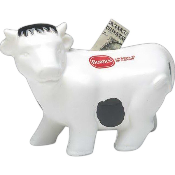 Cow Banks, Custom Printed With Your Logo!
