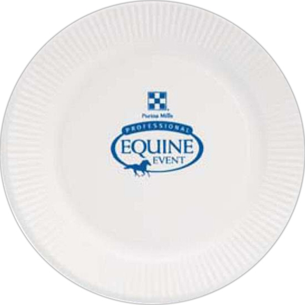 Custom Printed Disposable Color Paper Plates
