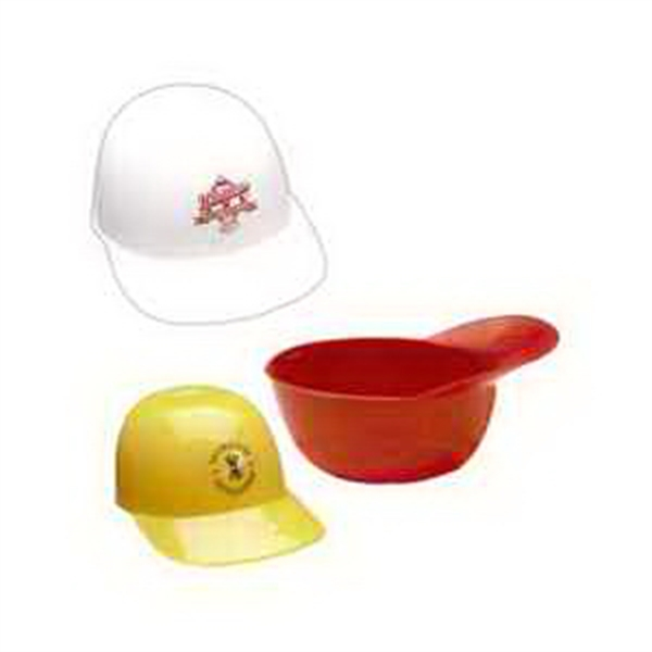 Baseball Cap Sundae Dishes, Custom Imprinted With Your Logo!