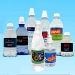 Custom Printed Private Label Water Bottles