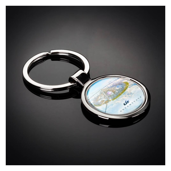 Custom Printed 1 Day Service Round Soft Keytags