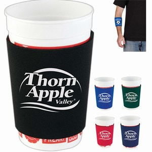 Adjustable Can Cooler Koozies, Custom Imprinted With Your Logo!