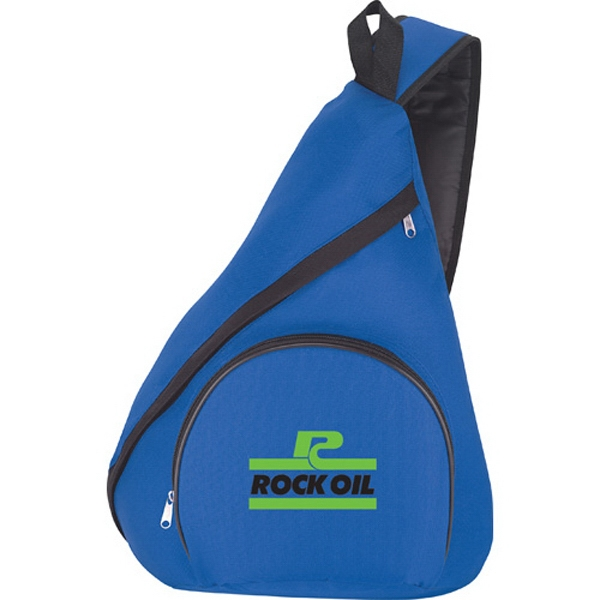 1 Day Service Single Strap Sling Bag Backpacks, Custom Imprinted With Your Logo!