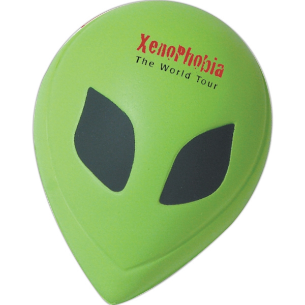 Alien Stress Relievers, Custom Imprinted With Your Logo!
