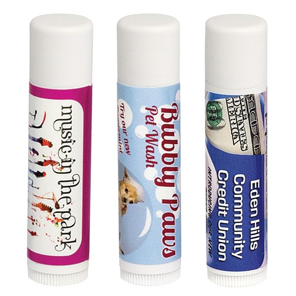 Custom Printed Mango Lip Balms