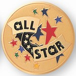 Custom Engraved All Star Emblems and Seals