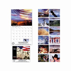America the Beautiful Wall Calendars, Custom Imprinted With Your Logo!