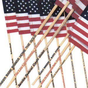 Custom Printed American Flags