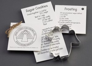 Custom Imprinted Angel Stock Shaped Cookie Cutters