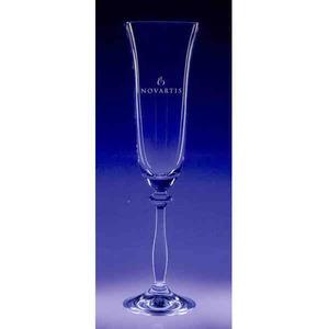 Angela Flute Drinkware Crystal Gifts, Custom Made With Your Logo!