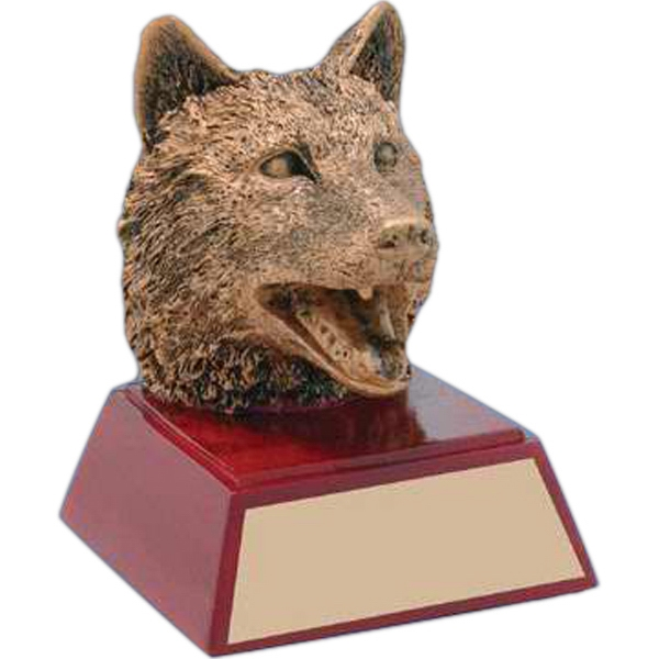 Paw Print Mascot Awards, Custom Engraved With Your Logo!
