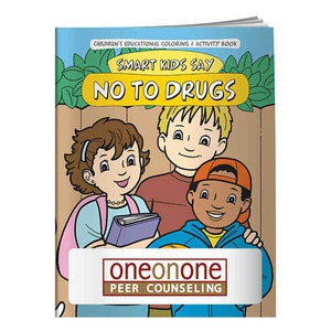 Custom Printed Anti Drug Themed Coloring Books