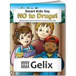 Personalized Anti Drug Themed Coloring Books
