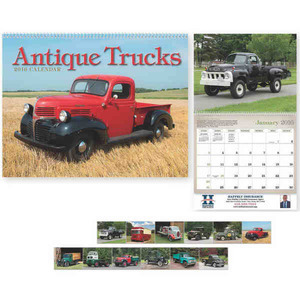 Antique Trucks Executive Calendars, Custom Designed With Your Logo!