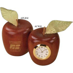 Custom Printed Apple Shaped Wooden Replicas