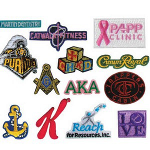 Appliques, Custom Imprinted With Your Logo!