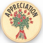 Custom Engraved Appreciation Flowers Emblems and Seals
