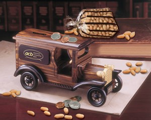 Custom Printed Armored Car Vehicle Themed Food Gifts