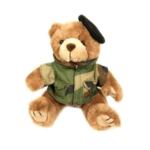 Army Stuffed Toys, Custom Imprinted With Your Logo!