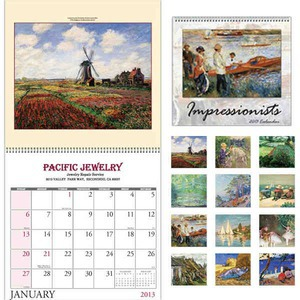 Custom Printed Artists of America Appointment Calendars