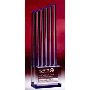 Ascent High End Crystal Awards, Personalized With Your Logo!