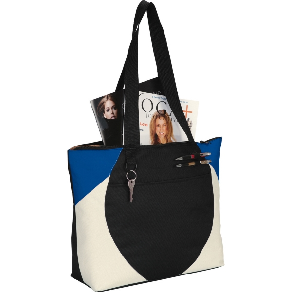 1 Day Service Tote Bags with Pen Ports, Custom Imprinted With Your Logo!