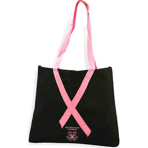 Custom Printed Awareness Ribbon Bags