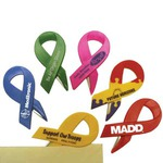 Custom Printed Breast Cancer Awareness Ribbon Letter Openers