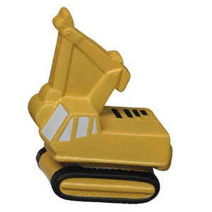 Custom Printed Backhoe Shaped Stress Relievers
