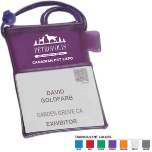 Badge Holders, Custom Imprinted With Your Logo!