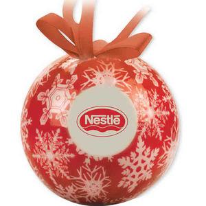 Ball Christmas Ornaments, Custom Imprinted With Your Logo!