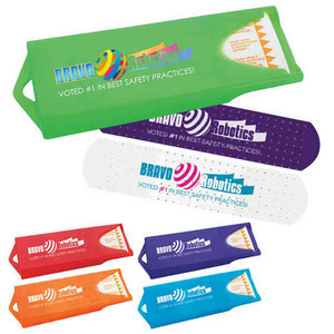 Bandage Dispensers, Customized With Your Logo!