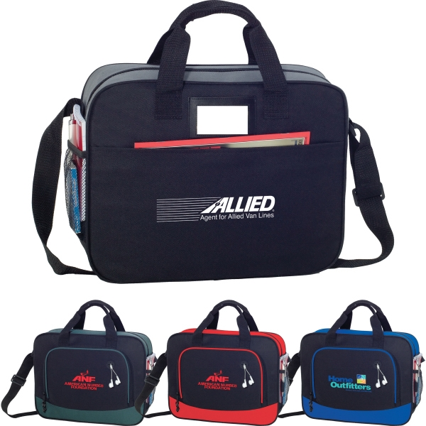 Custom Printed 1 Day Service PVC Briefcases