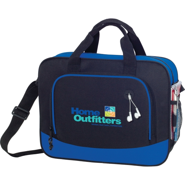 1 Day Service PVC Briefcases, Custom Printed With Your Logo!