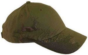 Custom Printed Baseball Cap Stock Design Buck