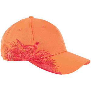 Custom Printed Baseball Cap Stock Design Pheasant