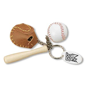 Baseball Key Chains, Custom Imprinted With Your Logo!