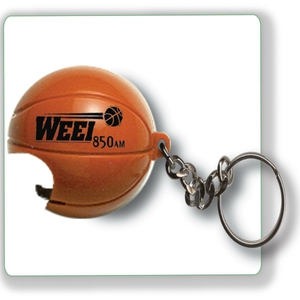 Basketball Shaped Bottle Openers, Custom Imprinted With Your Logo!