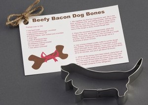 Custom Imprinted Basset Hound Stock Shaped Cookie Cutters