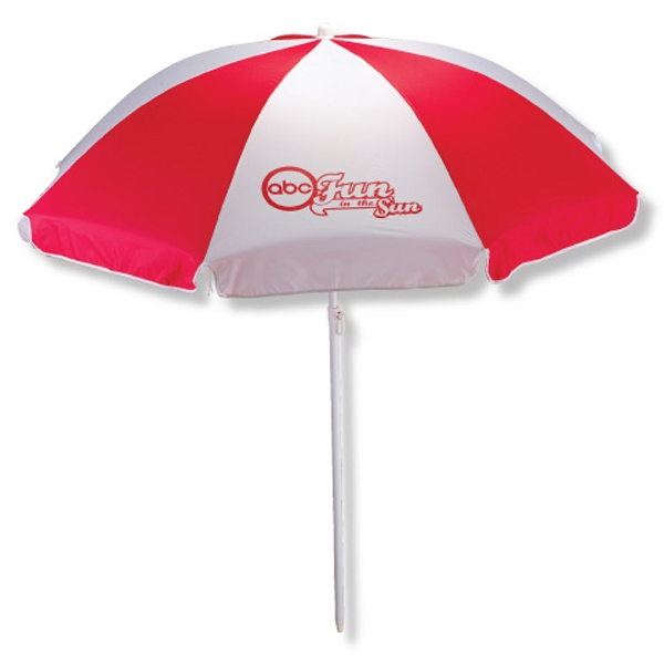 Beach Umbrellas, Personalized With Your Logo!