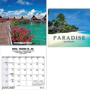 Custom Printed Beaches Appointment Calendars