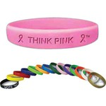 Custom Decorated Bendable Rubber Bracelets
