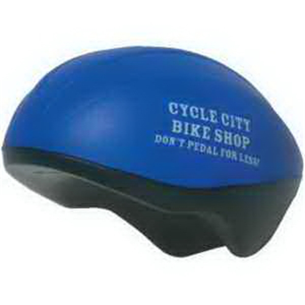 Custom Imprinted Bicycle Helmet Stress Relievers