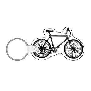 Custom Imprinted Bicycle Shaped Keytags