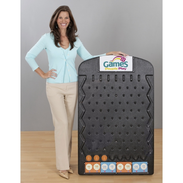 Black Plinko Games, Custom Imprinted With Your Logo!